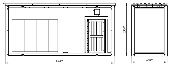 ОПУ размеры крайних блоков
